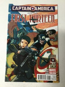 Captain America And The First Thirteen Nm Near Mint Marvel