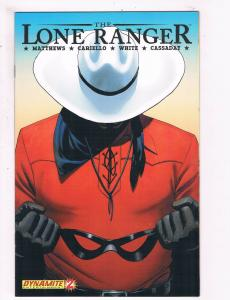 The Lone Ranger # 2 VF Dynamite Entertainment Comics Awesome Issue Western!! SW5