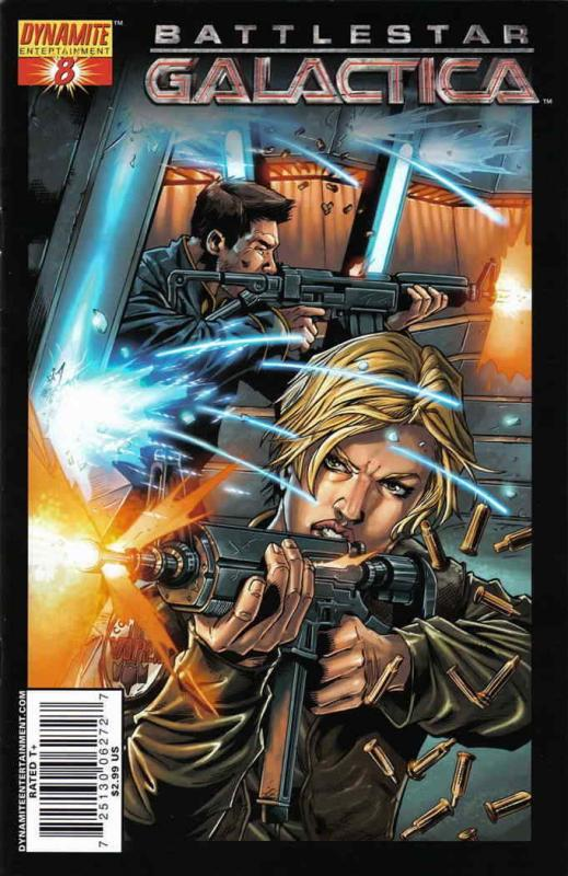 Battlestar Galactica (Dynamite) #8A VF; Dynamite | save on shipping - details in