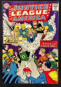Justice League Of America #21 VG+ 4.5 1st Silver Age Hourman and Dr. Fate!