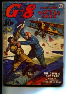 G-8 And His Battle Aces-Pulps-2/1944-Robert J. Hogan