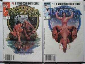 TARZAN OF THE APES (MOVIE) 1-2  the complete series!