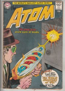 Atom, The #12 (May-64) VG+ Affordable-Grade The Atom