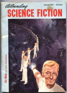 ASTOUNDING SCIENCE FICTION-JAN 1953-RARE PULP-ATOMIC ENERGY PLANT-IDAHO FALLS