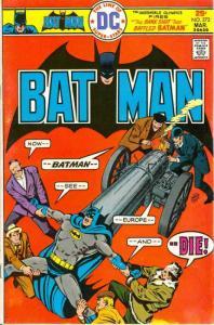 Batman #273 VG; DC | low grade comic - save on shipping - details inside