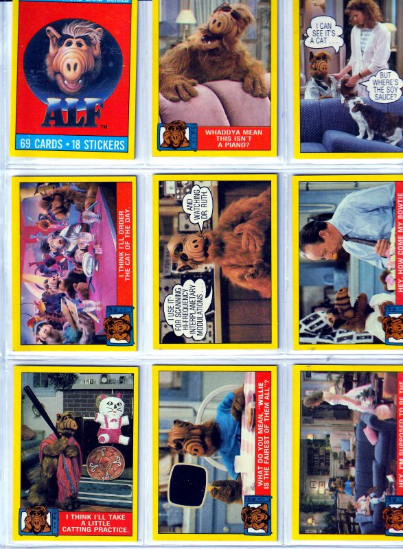 Alf Trading Cards