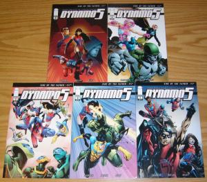 Dynamo 5: Sins of the Father #1-5 VF/NM complete series - kirkman's invincible