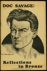 Doc Savage: Reflections in Bronze Fanzine 1978- Frank Hamilton Pulps FN