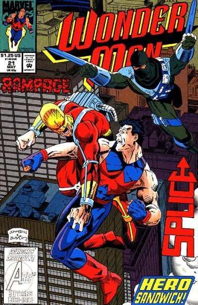 Wonder Man #1 FN 1991 Stock Image