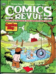 Comics Revue #33 1989-Gasoline AlleySteve Canyon-Phantom-Modesty Blaise-VF
