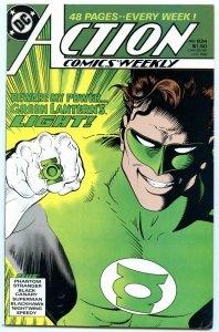 Action Comics Weekly 634 Jan 1989 NM- (9.2)