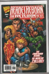 Heroes Reborn the Return 1-4 Set #1to4 (Dec-97) NM Super-High-Grade Fantastic...