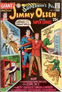 JIMMY OLSEN 131 VG GIANTS Sept. 1970 COMICS BOOK