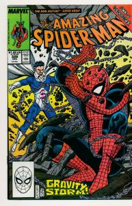 Marvel Comics the AMAZING SPIDER-MAN 326 Gravity Storms! 1989 ~ FN+ (PF481)