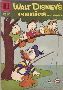 Comics and Stories, Walt Disney's #228 (Sep-59) FN Mid-Grade Donald Duck, Hue...