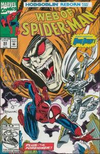 Marvel WEB OF SPIDER-MAN (1985 Series) #93 VF/NM