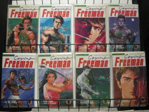 CRYING FREEMAN (1989 VIZ) 1-8 the complete 1st series!