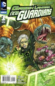 Green Lantern: New Guardians Annual #1, NM (Stock photo)