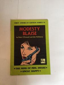 First American Edition 2 Modesty Blaise Tpb Nm