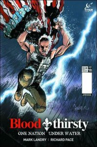 Bloodthirsty: One Nation Under Water #5B VF/NM; Titan | save on shipping - detai