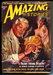 Amazing Stories-Pulps-8/1949-Robert Fleming Fitzpatrick-Alexander Blade