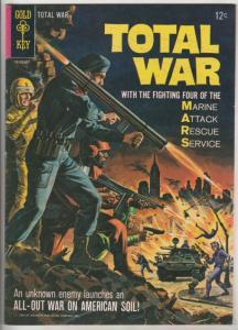 M.A.R.S. Patrol Total War #1 (Jul-65) VF High-Grade M.A.R.S.