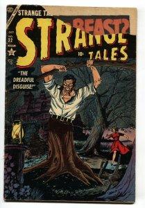STRANGE TALES #32-1954-ATLAS PRE-CODE HORROR-MAN-TREE Groot?
