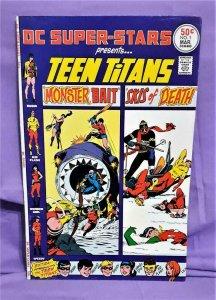 Bob Haney DC Super-Stars #1 Presents TEEN TITANS Nick Cardy Gil Kane (DC, 1976)!
