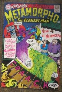 METAMORPHO #4 (DC, 2/1966)  GOOD (G), 2 SPINE SPLIT, OTHERWISE VG