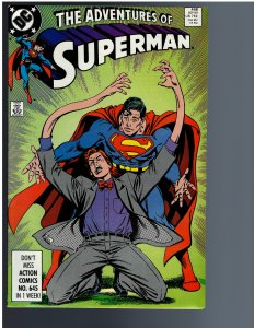Adventures of Superman #458 (1989)