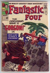 Fantastic Four #44 (Nov-65) VG/FN+ Mid-Grade Fantastic Four, Mr. Fantastic (R...
