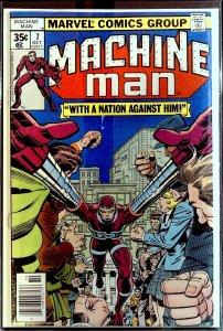 Machine Man #7 (1978)