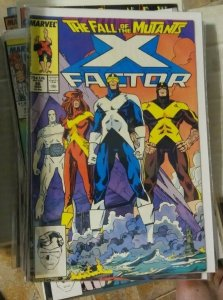 X-Factor  # 26 1987 marvel  BEAST CYCLOPS   ANGEL   FALL OF THE MUTANTS XMEN