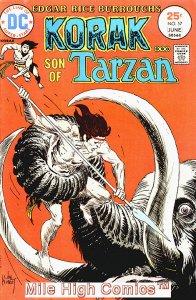 KORAK, SON OF TARZAN (1972 Series)  (DC) #57 Fine Comics Book