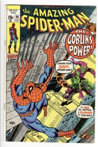 AMAZING SPIDERMAN 98 F 6.0 DRUG ISSUE-NOT APPROVED BY COMICS CODE!