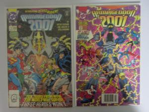 Armageddon 2001 (1991) #1&2 Set - VF/NM - 1991