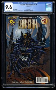 Legends of the Dark Claw #1 CGC NM+ 9.6 White Pages