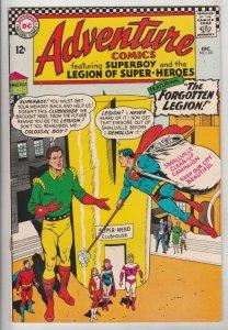 Adventure Comics #351 (Dec-66) VF+ High-Grade Legion of Super-Heroes, Superboy