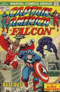 Captain America #171 (ungraded) stock photo / SCM
