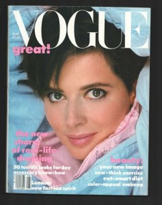 Vogue 8/1992-Charm of real life dressing-Eat smart diet-Fashion-High Couture-...