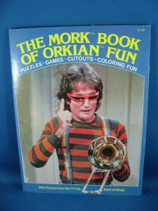 THE MORK BOOK OF ORKIAN FUN F VF ROBIN WILLIAMS PHOTO CVR COMPLETE 1979