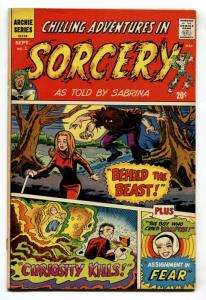 CHILLING ADVENTURES IN SORCERY #1 Sabrina cover- Archie FN