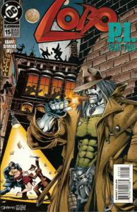 Lobo #15 VF/NM; DC | save on shipping - details inside