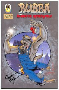 BUBBA the REDNECK WEREWOLF #7, NM, Signed Hyman, 2002, more indies in store