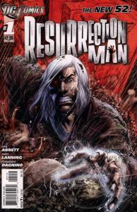 Resurrection Man (2nd Series) #1 (2nd) VF/NM; DC | save on shipping - details in