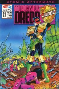 Law of Dredd #21, NM- (Stock photo)