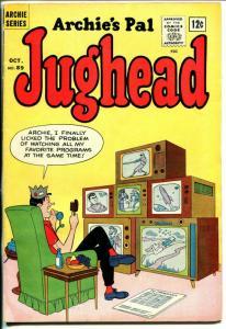 Archie's Pal Jughead #89-Betty-Veronica-ice cream-TV sets-VG-