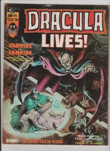 DRACULA LIVES  #4 1974  MARVEL COMICS MIKE PLOOG ART