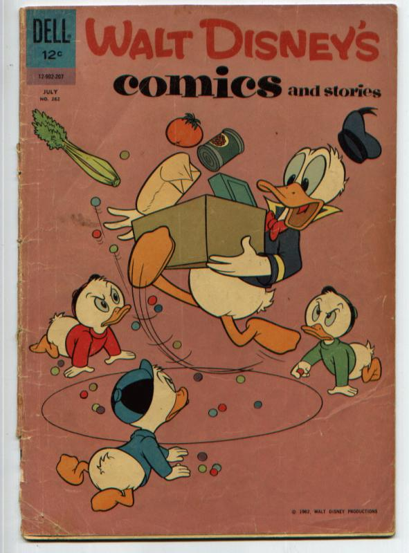 Walt Disney's Comics & Stories #262 (Dell, July 1962) FR/GD 1.5