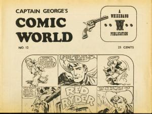 CAPTAIN GEORGES COMIC WORLD-REPRINTS-#12-RED RYDER FN